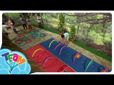 Sunday Funday: Pool Noodle Obstacle Course  Team Yey Season 2