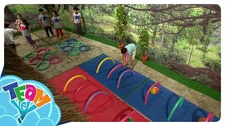 sunday funday pool noodle obstacle course team yey season 2