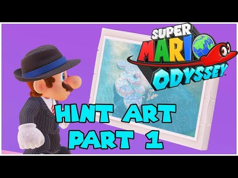 Super Mario Odyssey - Hint Art Guide (Part 1)