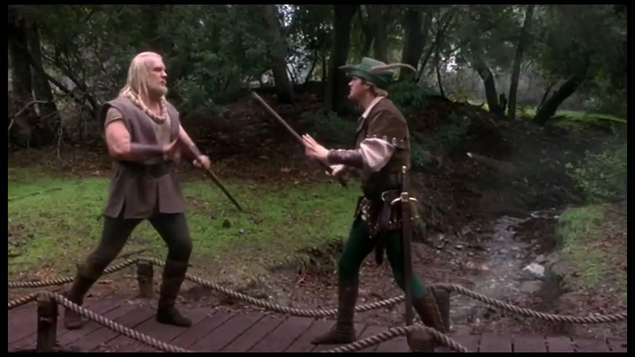 Robin Hood: Men in Tights - Bridge Fight - YouTube