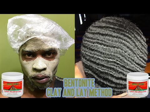 How to Wash 360 Waves - Clay And Lay Method (Bentonite)