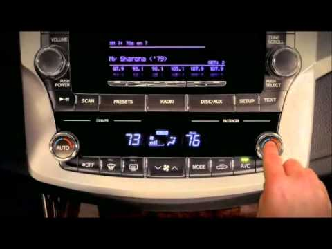 Air Conditioner Climate Control System Avalon Toyota Of