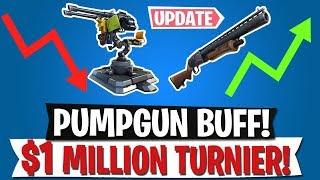 KRASSER BUFF für Pumpgun! | $1 MILLION Turnier für ALLE | Fortnite Battle Royale