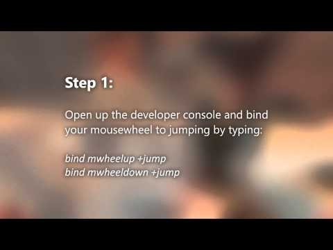 TF2 - ctf_2fort_cool bunnyhop jump trick tutorial