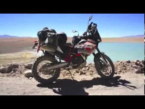 Around the world on motorcycle. South America Part 3 of 6