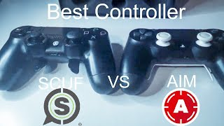 The Best Controller For Fortnite Scuf Vs AIM