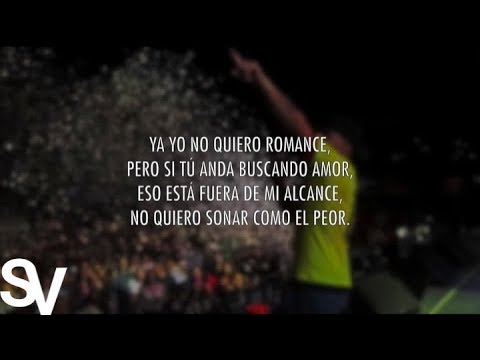 Romance (Video Letra Oficial) - Nacho Ft. Justin Quiles
