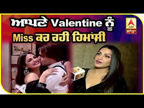 Himanshi khurana interview on Valentine   Asim   Bigg boss winner