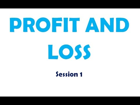 Basic Profit and Loss Session 1 for Kids YouTube – Basic P and L