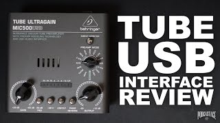Behringer MIC500USB Interface Review / Test / Explained
