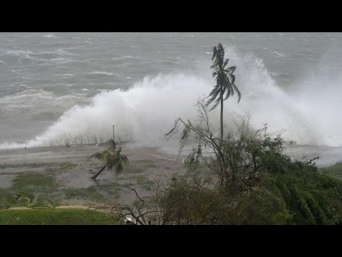 Dozens feared dead as cyclone pounds Pacific island of Vanuatu
