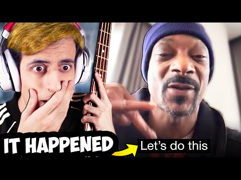 Snoop Dogg RAPPED with Me and my BASS