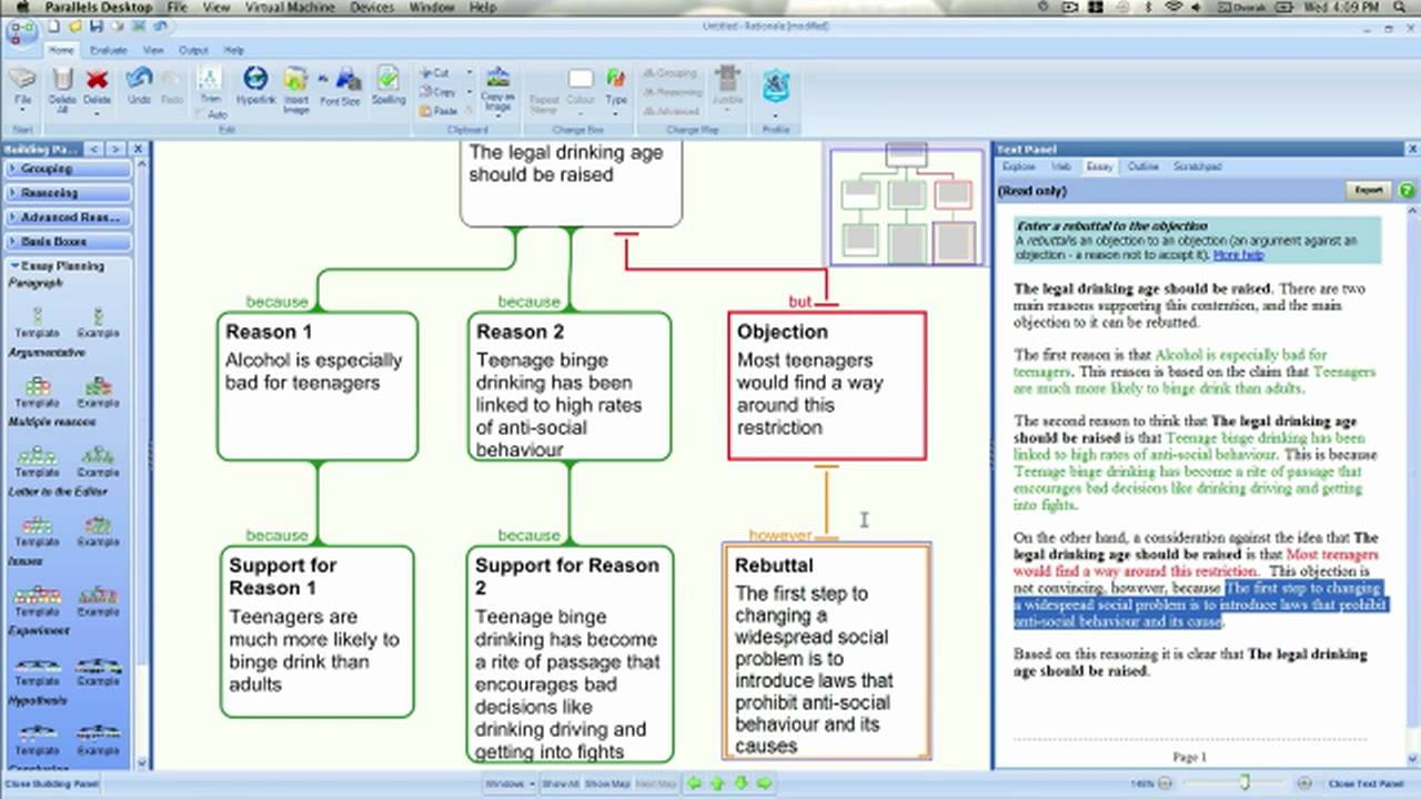 Plan And Write A Great Essay With Rationale YouTube