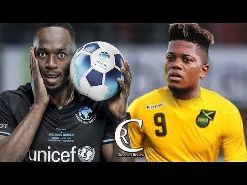Usain Bolt D!$$ Jamaica Football Team | Says Leon Bailey Is Above Their Level 2018