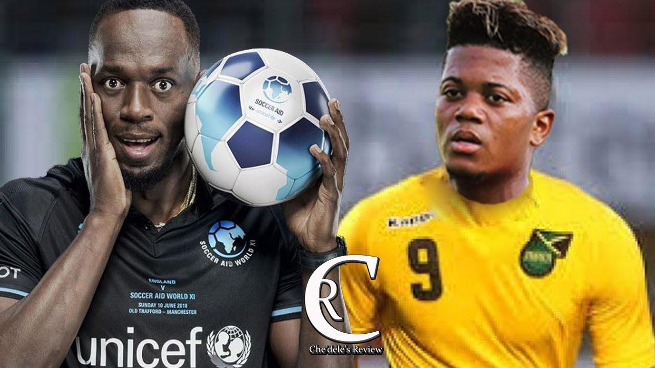 Usain Bolt D Jamaica Football Team Says Leon Bailey Is Above