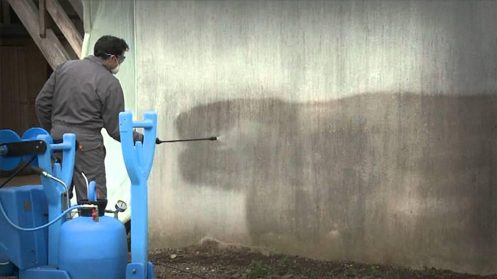 D moussage d 39 une fa ade youtube - Produit nettoyage facade maison ...