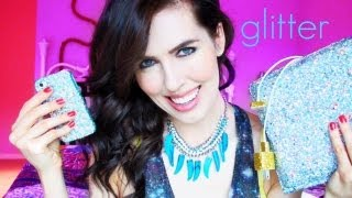 One of Brittani Louise Taylor's most viewed videos: D.I.Y. Glitter Mod Podge Accessories!