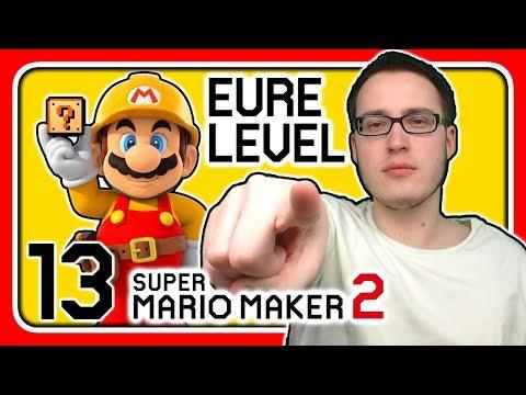 Livestream! Super Mario Maker 2 [EURE Level] (Stream 13)