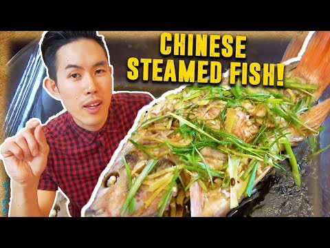 How To Make TRADITIONAL Chinese Steamed Fish