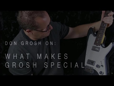 Don Grosh On What Makes Grosh Guitars Special  •  Wildwood Guitars Interview