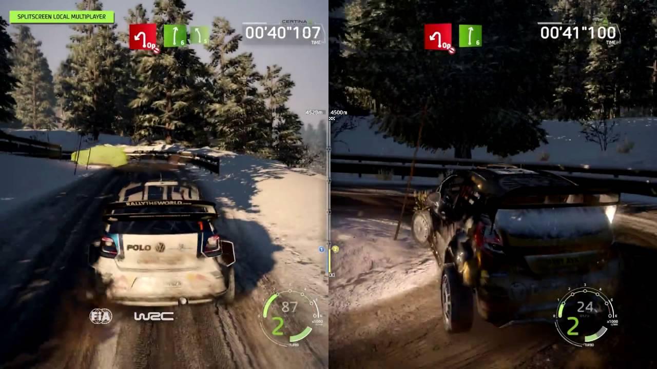 WRC 6   Split Screen Multiplayer Mode Trailer (PS4)