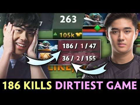 186 KILLS Ana — DIRTIEST Fountain Farm In Dota History With Abed