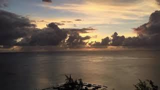 180518 사이판 켄싱턴리조트 일몰 풍경