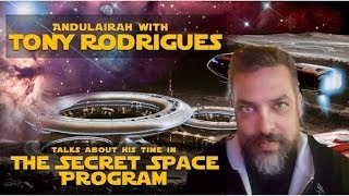 PART 3: Interview With TONY RODRIGUES: 20 Years A Slave: SECRET SPACE PROGRAM