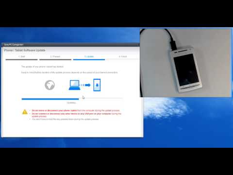 Sony Ericsson Xperia X8 E15i hard reset by update software (100% working solution)