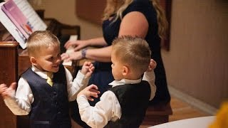 Twins Fight at Wedding