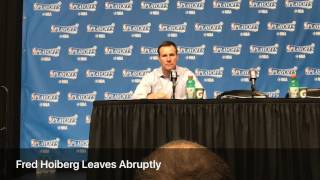 Fred Hoiberg asked about Isaiah Thomas carrying, leaves abruptly