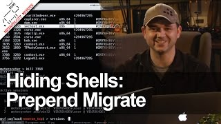 Hiding Shells: Prepend Migrate - Metasploit Minute