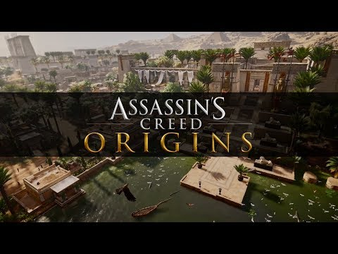 Assassin's Creed Origins : The Regions of the Open World (Siwa, Memphis, Faiyoum...)