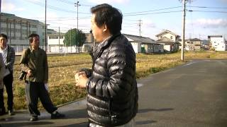 2012年11月18日に実施された長良川おんぱく、山口敏太郎の岐阜...