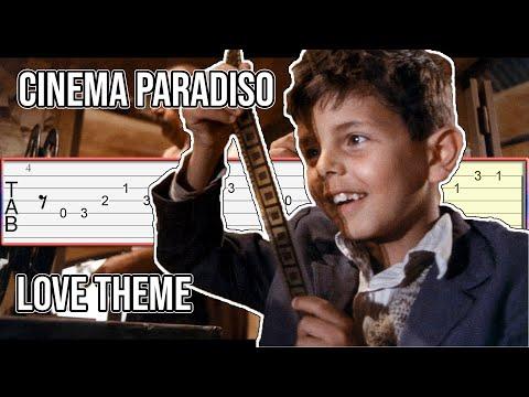 Cinema Paradiso - Love Theme Guitar Tab Tutorial
