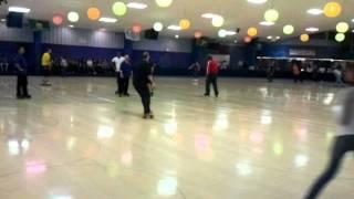 palace roller skating rink december 17th, advanced backward