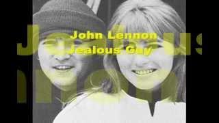 John Lennon - Jealous Guy (subtitulado al español)