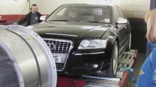 Audi V10 S8 on Dyno