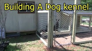 Building a dog kennel