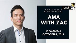 Pundi X: Q3 2019 Progress Report - AMA with Zac Cheah