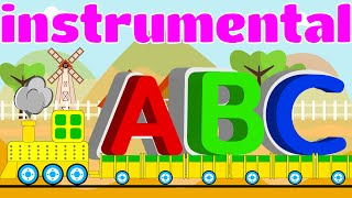 ABC Song instrumental   Nursery Rhyme   Kids Song   OLYMPOS KIDS