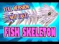 3D MODULAR ORIGAMI #96 FISH SKELETON FULL VERSION (NOT FAST)