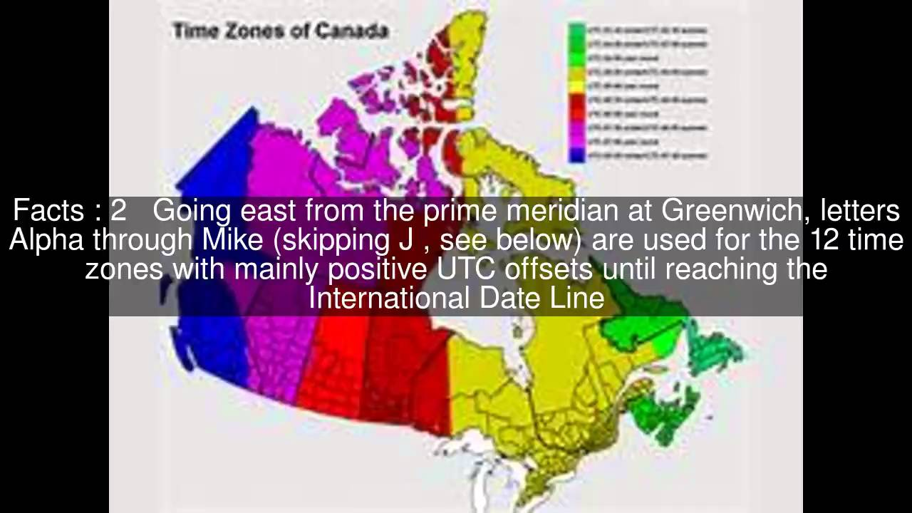 List of military time zones Top #6 Facts - YouTube