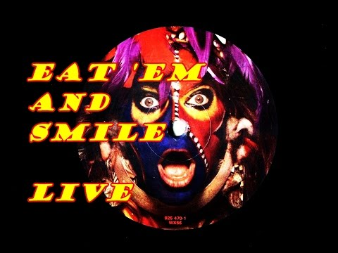 David Lee Roth: EAT 'EM AND SMILE * LIVE VERSION * recorded in New Haven, Las Vegas & Tokyo