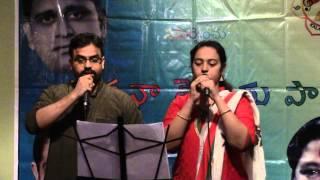 Prabhakar Kota, Srujana Aduri sing