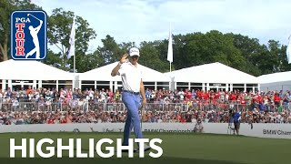 Justin Thomas' highlights | Round 4 | BMW Championship 2019