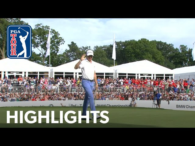 Justin Thomas's highlights | Round 4 | BMW Championship 2019
