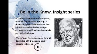 Insight series with Blue Tractor Group