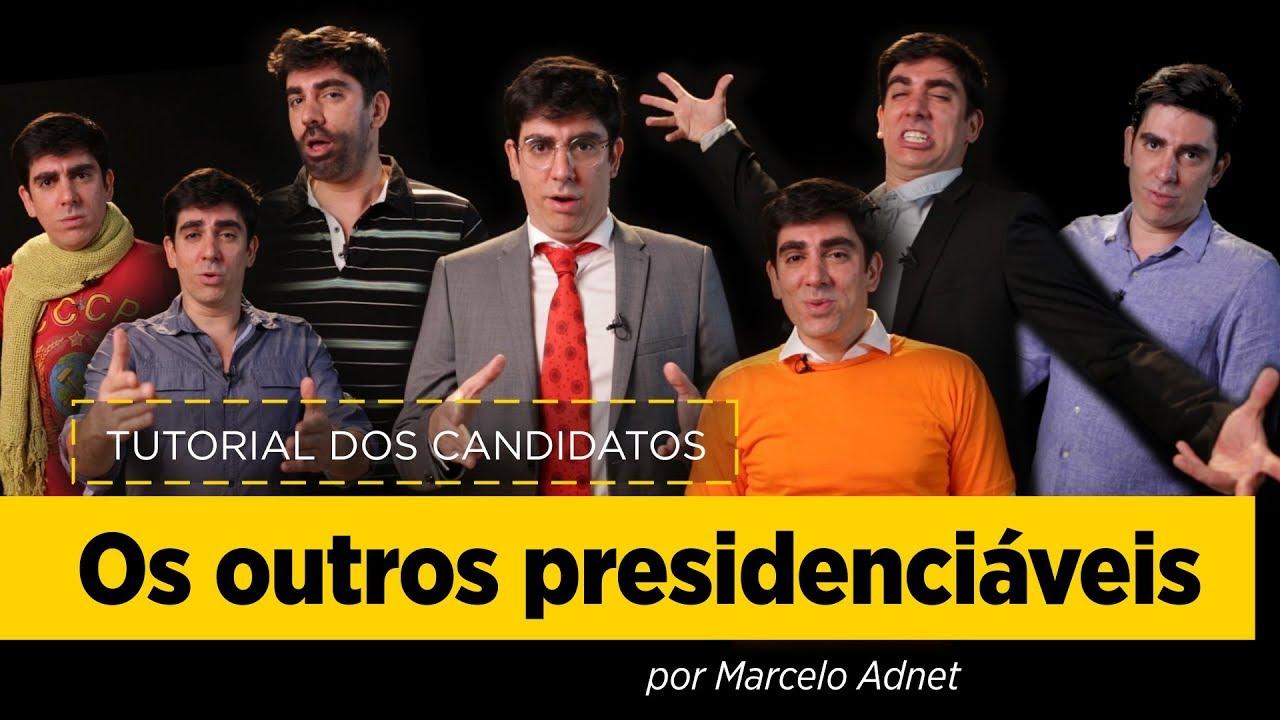 Download Marcelo Adnet imita Boulos, Amoêdo, Meirelles, Alvaro Dias, Eymael, Vera Lucia e João Goulart Filho