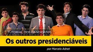 Marcelo Adnet imita Boulos, Amoêdo, Meirelles, Alvaro Dias, Eymael, Vera Lucia e João Goulart Filho